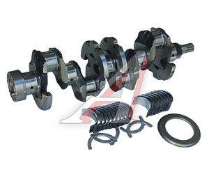 Вал коленчатый ЗИЛ-5301 в сборе с вкладышами в упаковке ,под 2 шпонки, шлиц (7 отверстий) ММЗ 245-1005010-А, 245-1005010