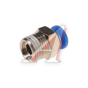 """Фитинг для пластиковых трубок 1/4"""" 6мм с наружной резьбой ROCK FORCE RF-SPC06-02"""