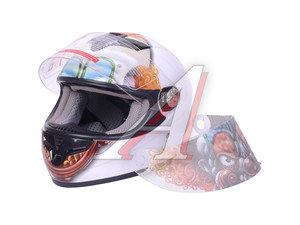 Шлем мото (интеграл) MICHIRU ЗЛОЙ КЛОУН L MI 105 L, 4650064232945