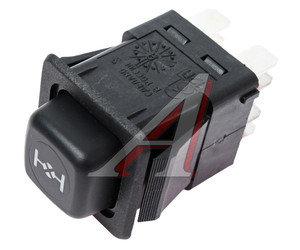 Выключатель кнопка ГАЗ,ЗИЛ блокировки дифференциал 3832.3710-10.28 12V Псков, 3832.3710-10.28