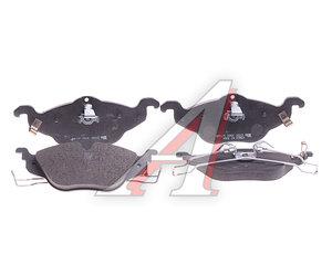 Колодки тормозные OPEL Astra G, Zafira (98-) (1.4) передние (4шт.) HSB HP5135, GDB1351, 1605034