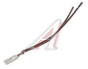 Клемма (папа) 6.3мм в сборе с 2-мя проводами луженая АЭНК ПВ614, 8004