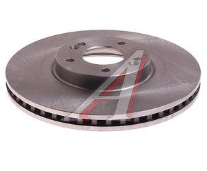 Диск тормозной HYUNDAI Santa Fe (10-) KIA Sorento (09-) передний (1шт.) VALEO PHC R1089, DF7973, 51712-2W700