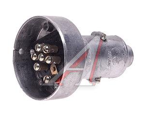 Разъем электрический прицепа 7-полюсный МТЗ (комплект металл) АВТОРЕЛЕ ПС300АЗ, ПС300, ПС300А3