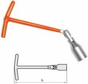 Ключ свечной карданный 16мм L=500мм АВТОДЕЛО АВТОДЕЛО 34165, 14142