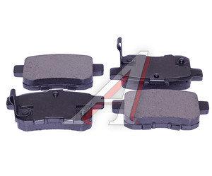 Колодки тормозные HONDA Accord (08-) (2.0/2.4) задние (4шт.) SANGSIN SP2103, GDB3482