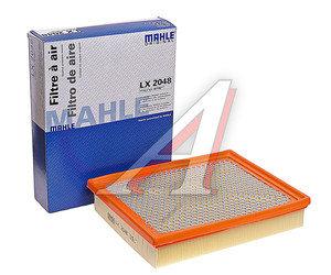 Фильтр воздушный SSANGYONG Actyon (06-),Kyron (05-),Actyon Sports (06-) (D20/27,E23) MAHLE LX2048, 2319009001