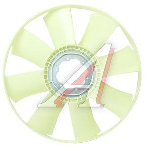 Вентилятор КАМАЗ-ЕВРО 654мм без муфты с обечайкой (дв.740.30,740.31,CUMMINS) 020002743, 6400386