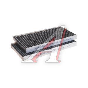Фильтр воздушный салона KIA Sorento (06-),Sportage (2шт.) угольный SIBТЭК AC9320C, LA444/S/AC049320C, 97133-2E910