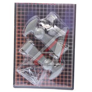 Замок багажника PRO SPORT резиновый,серебро комплект RS-01912