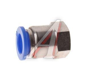 Соединитель трубки ПВХ,полиамид d=10мм (внутренняя резьба) М10х1 прямой PCF M10x1 d=10, АТ-0722