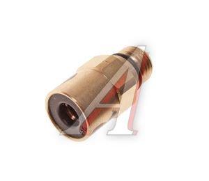 Соединитель трубки ПВХ,полиамид d=6мм (наружная резьба) М10х1 прямой латунь CAMOZZI 9512 6-M10X1, 9512 6-M10X1C