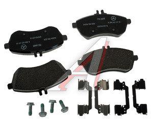 Колодки тормозные MERCEDES C (W204,S204),E (W211,W212) передние (A0074209220) (4шт.) OE A0064207120, GDB1736/A0074209220, A0064207120/A0054201220