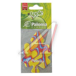 Ароматизатор подвесной пластина (apple) Classic PALOMA PALOMA 210102 Яблоко, 210102