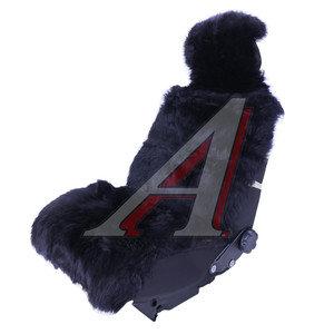 Накидка на сиденье мех натуральный черная овчина с карманом Jolly Extra PSV 121746, 121746 PSV