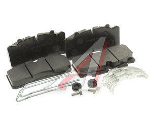 Колодки тормозные ГАЗ-3310 Валдай передние/задние (4шт.) с ремкомплектом Торнадо-НН 3310-3501800-03, 3310-3501800-03/GBD5073