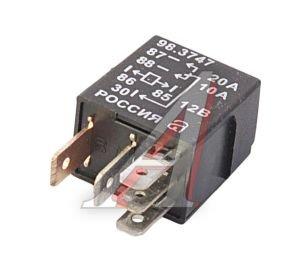Реле электромагнитное ВАЗ-1118 12V 5 контактов АВАР 98.3747