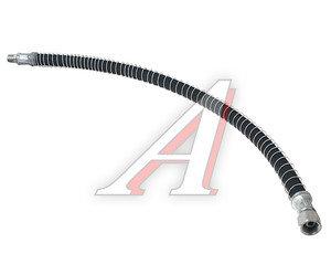 Шланг тормозной КРАЗ к среднему мосту в броне (S=27,гайка М22,штуц.М16) L=805 мм 250-3506086