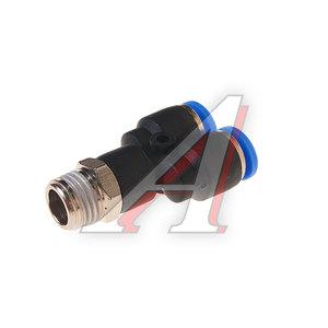 """Фитинг для пластиковых трубок 1/4"""" Y-образный 8мм с наружной резьбой ROCK FORCE RF-SPX08-02"""