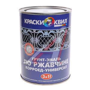 Грунт-эмаль по ржавчине черный 1л КОРРОЕД