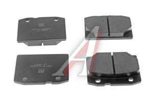 Колодки тормозные ВАЗ-2101 передние (4шт.) PILENGA 2101-3501090, FD-T 2001/BMFD-2001, 2101-3501089