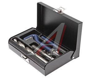 Набор инструментов для восстановления резьбы (вставки М12х1.75, L=16.3мм, 10шт.) 14 предметов JTC JTC-4787