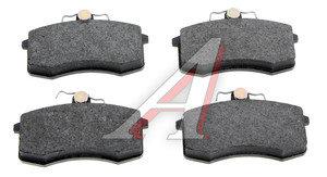 Колодки тормозные ВАЗ-2108 передние (4шт.) FERODO TARGET TAR527A, TAR527B, 2108-3501080