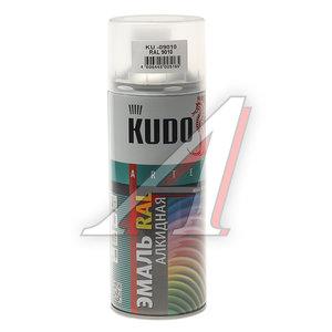 Краска белая аэрозоль 520мл KUDO KUDO KU-09010 RAL, KU-09010