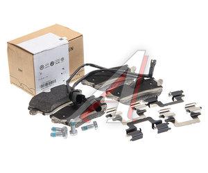 Колодки тормозные AUDI A8 (10-) задние (4шт.) OE 4H0698451L
