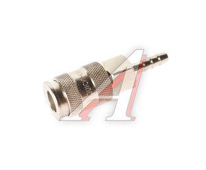 """Переходник для компрессора быстросъемный 1/4"""" """"елочка"""" Hose (европейский стандарт) JTC JTC-D20SHA"""