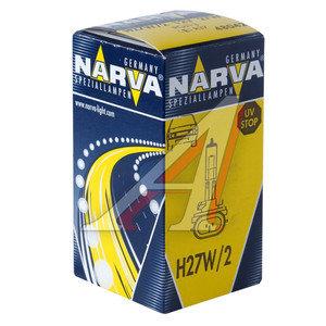 Лампа 12V H27W/1 27W PGJ13 NARVA 480423000, N-48042
