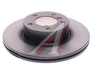 Диск тормозной BMW 1 (F20,F21),2 (F22),3 (F30,F31,E90-E93),X1 (E84) передний вентилир. (1шт.) TRW DF4807S, 24.0124-0203.1, 34116855006