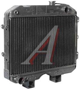 Радиатор УАЗ-452,469 медный 3-х рядный ШААЗ 3741-1301010, 3741-1301010-04
