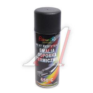 Краска термостойкая черная 400мл EVRO COLOR EVRO COLOR
