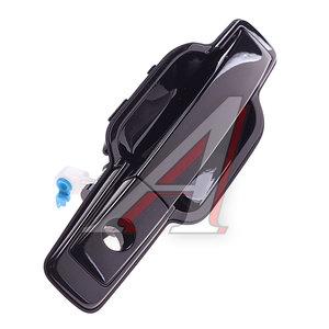 Ручка SSANGYONG Actyon (06-),Kyron (05-) двери передней правой наружная (черная) OE 7245009003LAK