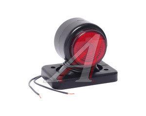 Фонарь габаритный и контурный белый/красный (хрусталик, светодиод) ЕВРОСВЕТ ГФ3.1LED1-20
