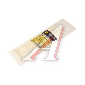 Хомут-стяжка 200х3.0 пластик белый (25шт.) ЭВРИКА ER-03202, CHS-3x200W-25