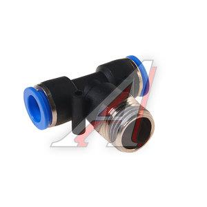 """Фитинг для пластиковых трубок 1/2"""" Т-образный 12мм с наружной резьбой ROCK FORCE RF-SPB12-04"""