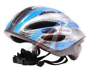 Шлем для катания на велосипеде, скейтборде и роликах (54-57см) LARSEN H2 M, 202508