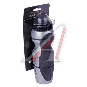Фляга велосипедная 750мл пластик серая KAGAMI KAGAMI, 4650066009965
