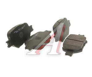 Колодки тормозные TOYOTA Corolla Verso (01-),Celica передние (4шт.) HSB HP5201, GDB3316, 04465-32191