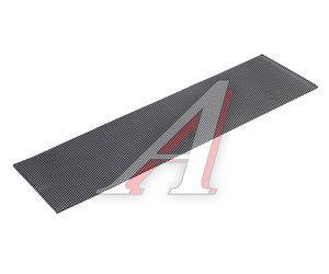 Решетка радиатора сетка (черная) средняя широкая 100х30см TEORIN 120107В
