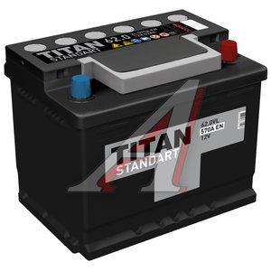Аккумулятор ТИТАН Standart 62А/ч обратная полярность 6СТ62, 84078