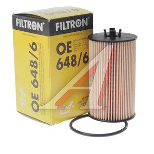 Фильтр масляный CHEVROLET Aveo (08-) OPEL Astra H,J (1.6/1.8) (09-) FILTRON OE648/6, OX401D, 93185674/5650359/55594651