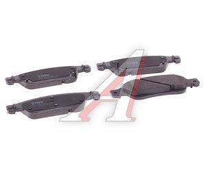 Колодки тормозные INFINITI EX35 (08-) передние (4шт.) TRW GDB3503, D1060-JK000