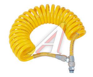 Шланг пневматический витой М16 L=5.5м (желтый) (t=-45+50) СМ AIR FLEX М16 L=5.5м (желтый), СМ452.711.006.0