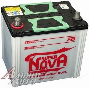 Аккумулятор SUPER NOVA 60А/ч обратная полярность 6СТ60 55D23L, 81293
