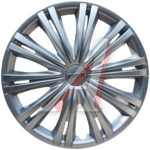 Колпак колеса R-15 серый комплект 4шт. ГИГА ГИГА R-15