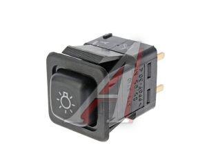 Выключатель кнопка ВАЗ-08,М-41 наружного освещения АВАР 375.3710-05.05 12V, 375.3710-05.05М, 375.3710-05.05