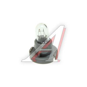 Лампа 12V Т4.2 3W пластиковый цоколь KOITO 1563, E1563